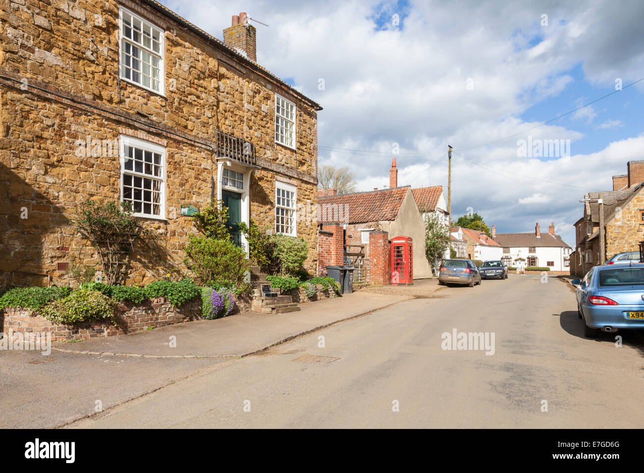 Village of Ab Kettleby, Leicestershire, England, UK - Stock Image