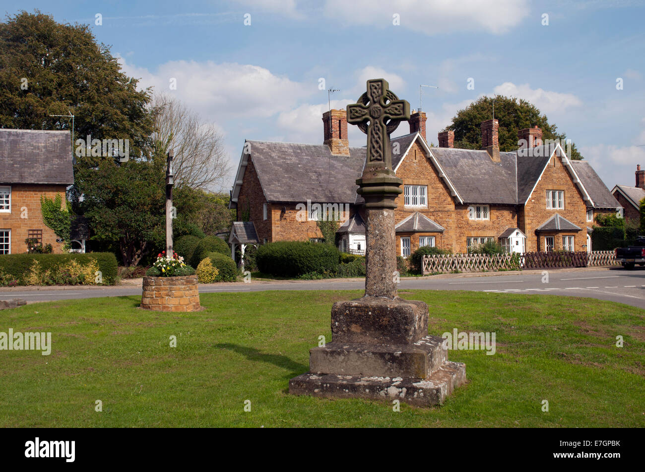 Sywell village, Northamptonshire, England, UK - Stock Image