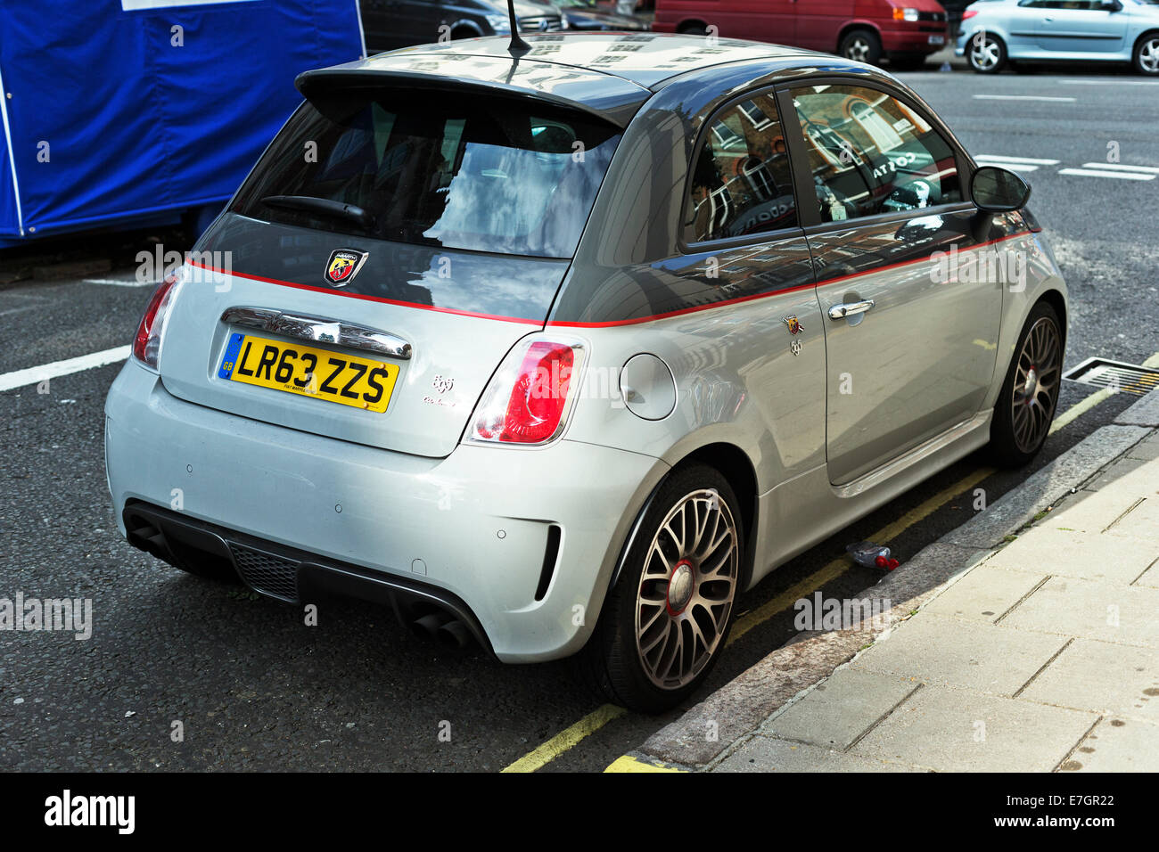 Abarth 595 Stock Photos & Abarth 595 Stock Images - Alamy