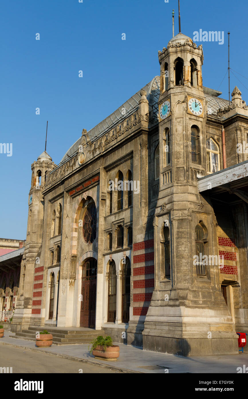Sirkeci Train Station - Stock Image