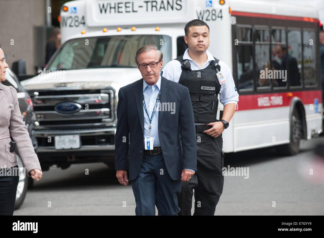Toronto, CAN , 17 Sep 2014 - Doctor Zane Cohn of Mount Sinai