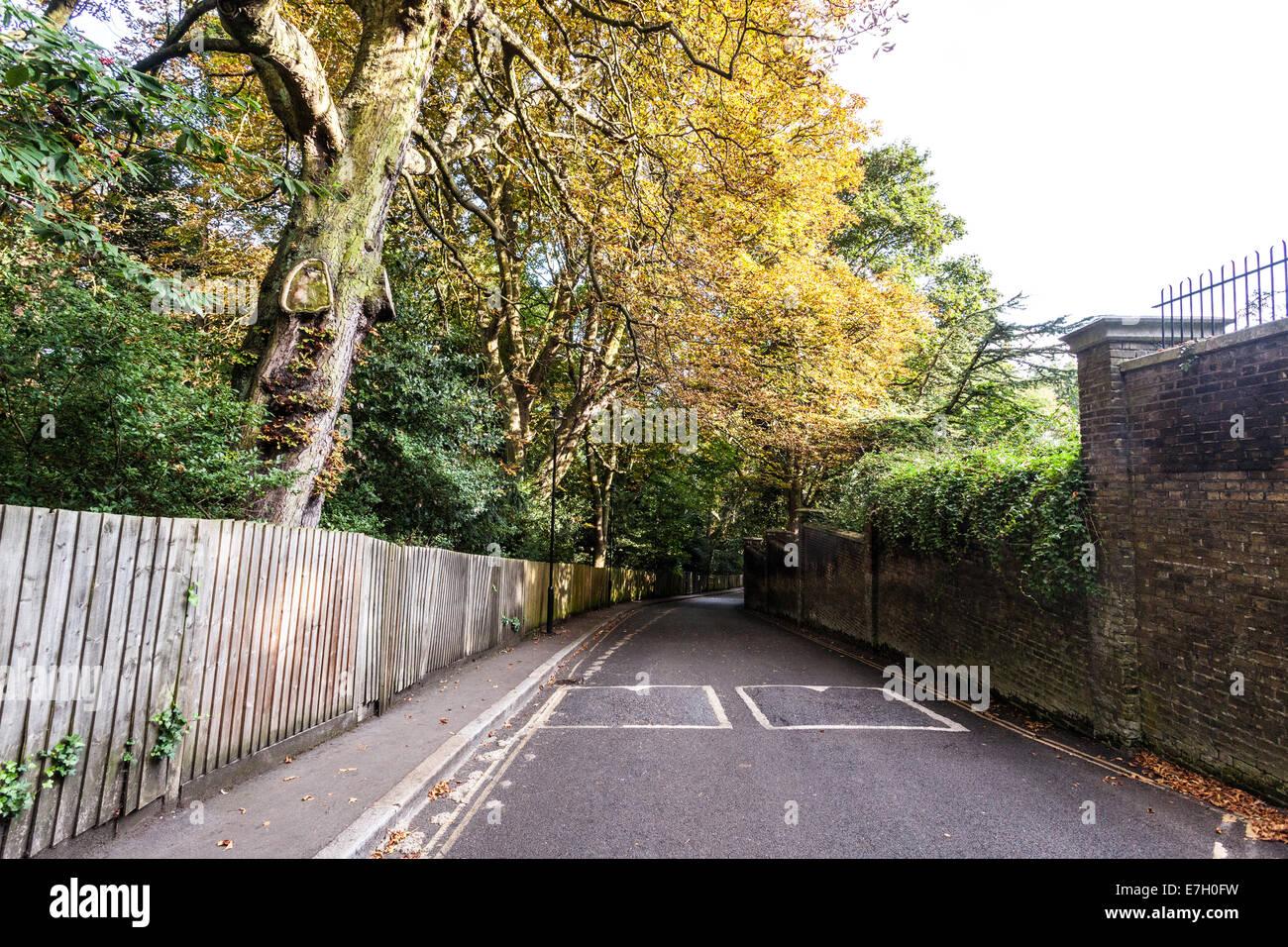 Swain's Lane, Highgate, London, UK - Stock Image