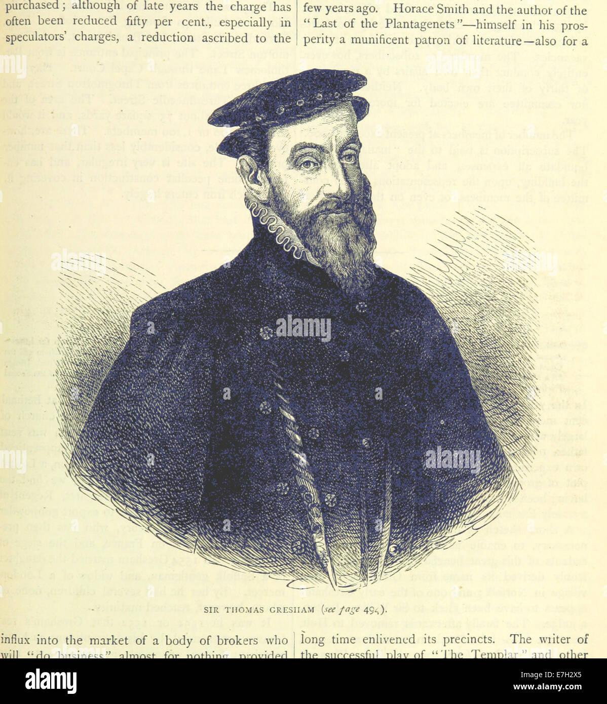 ONL (1887) 1.493 - Sir Thomas Gresham - Stock Image