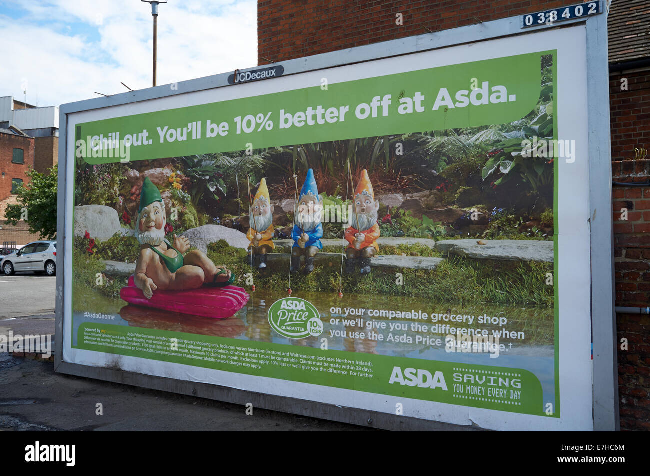 Asda supermarket billboard - Stock Image