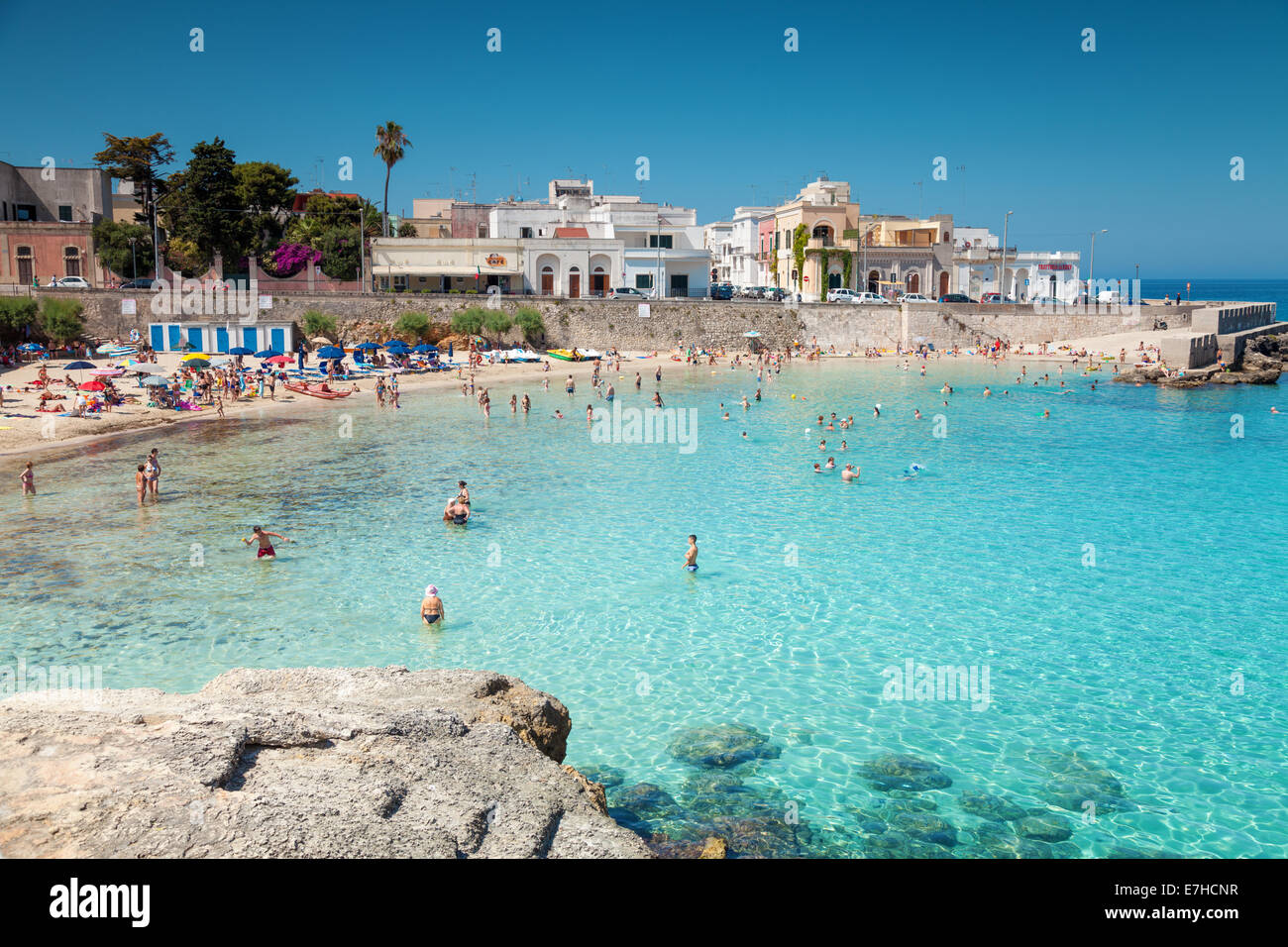 Santa maria al bagno city beach in puglia italy stock photo 73527267 alamy - Cloe santa maria al bagno ...