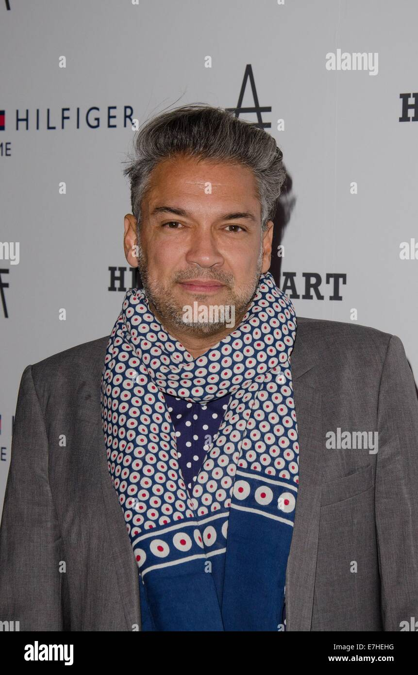 New York, NY, USA. 17th Sep, 2014. Carlos Mota at arrivals for Friends of the High Line 2nd Annual High Line Art - Stock Image