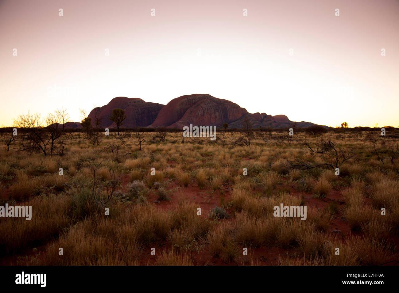 The Olgas, Uluru-Kata Tjuta National Park, Northern Territory, Australia - Stock Image