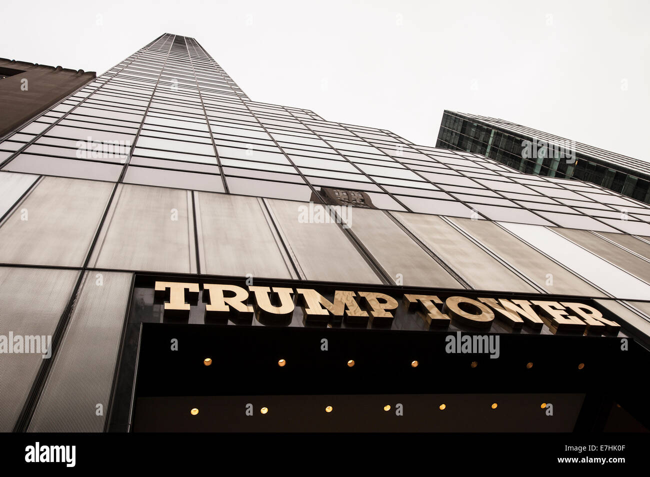 Trump Tower. NYC. - Stock Image
