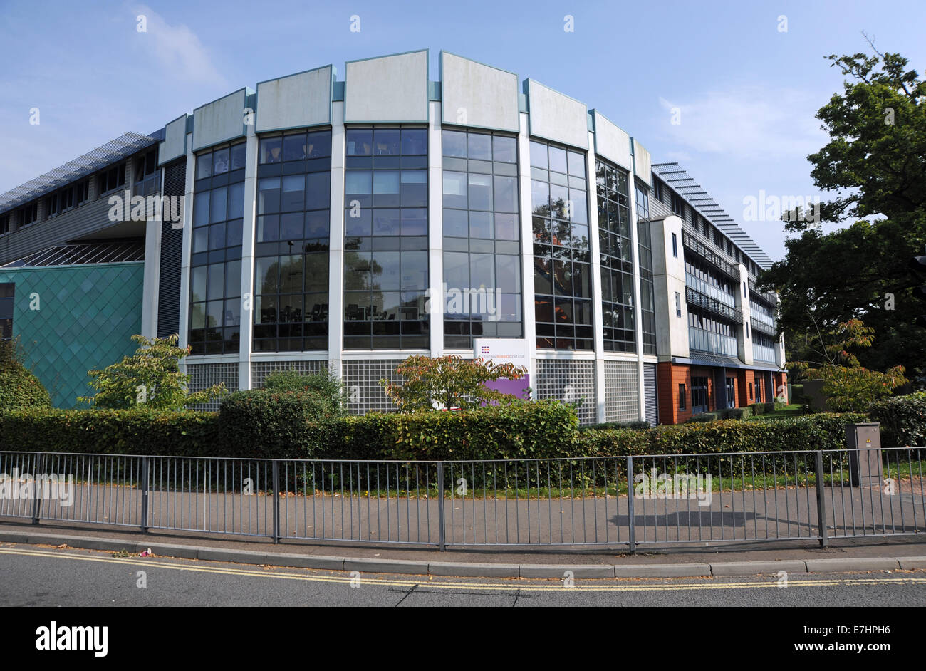 Crawley West Sussex UK - Central Sussex College - Stock Image
