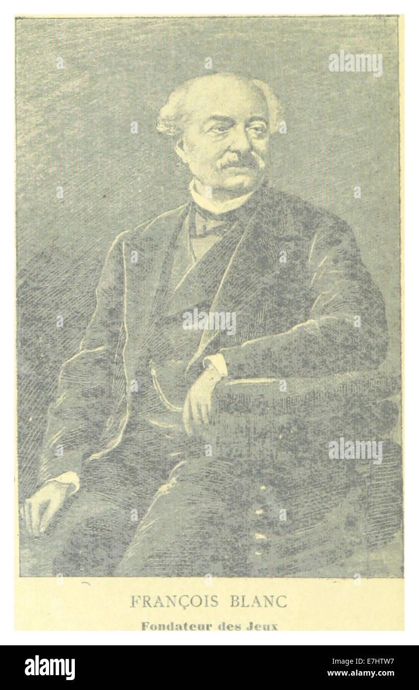 DUMONT(1892) p072 FRANCOIS BLANC, FONDATEUR DES JEUX - Stock Image