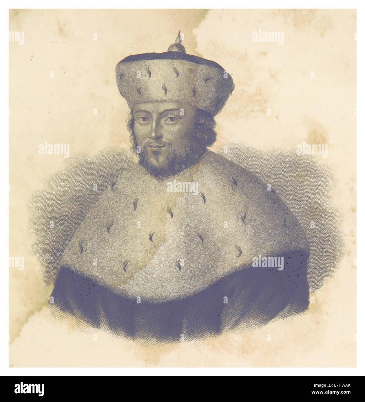 FISCHER(1836) p289 KURFC39CRST JOHANN CICERO von Brandenburg - Stock Image