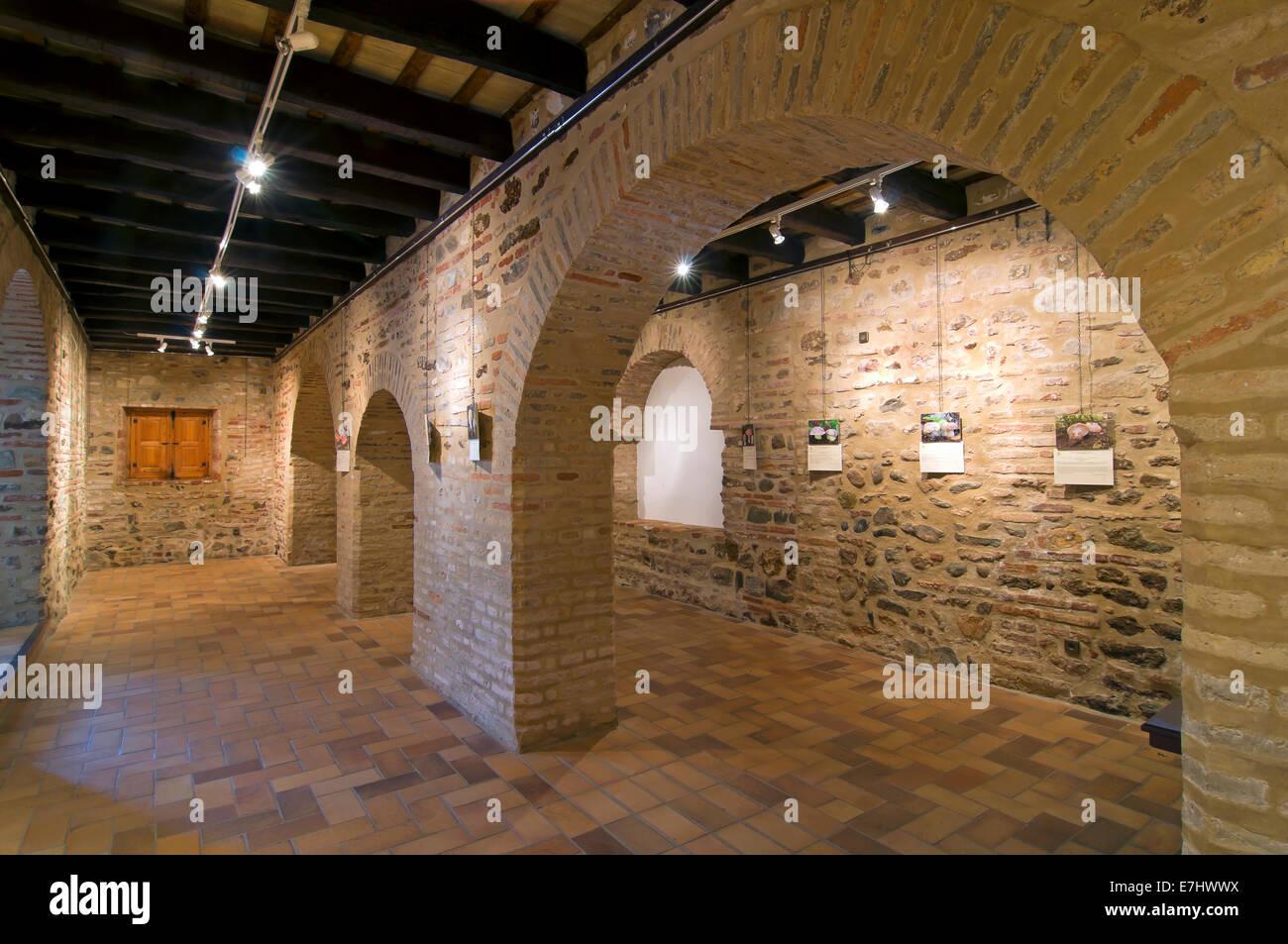Mudejar room -15th century, Town hall, La Redondela, Huelva province, Region of Andalusia, Spain, Europe - Stock Image