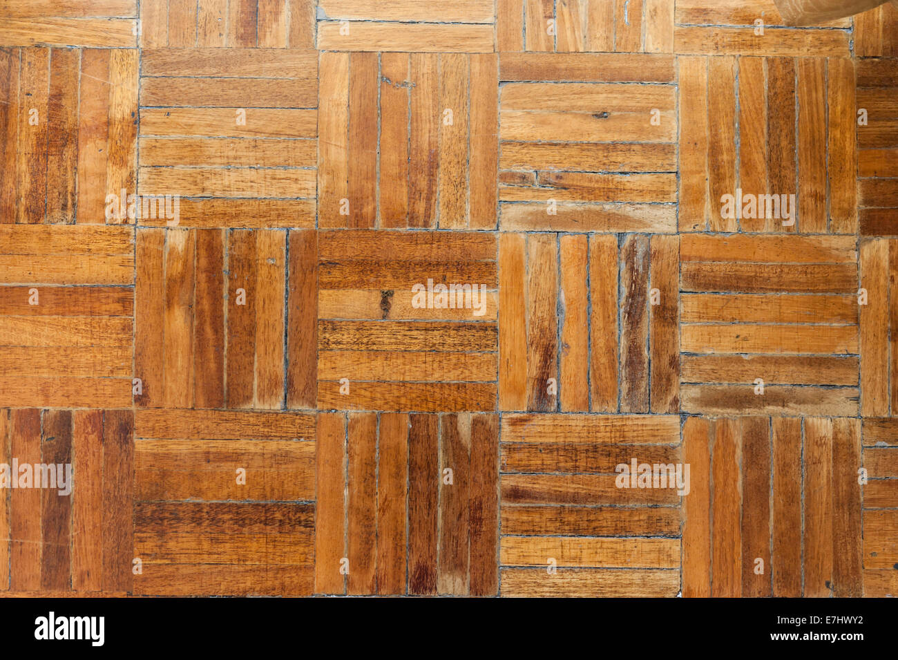 Rustic Wood Flooring Texture With A Parquet Pattern