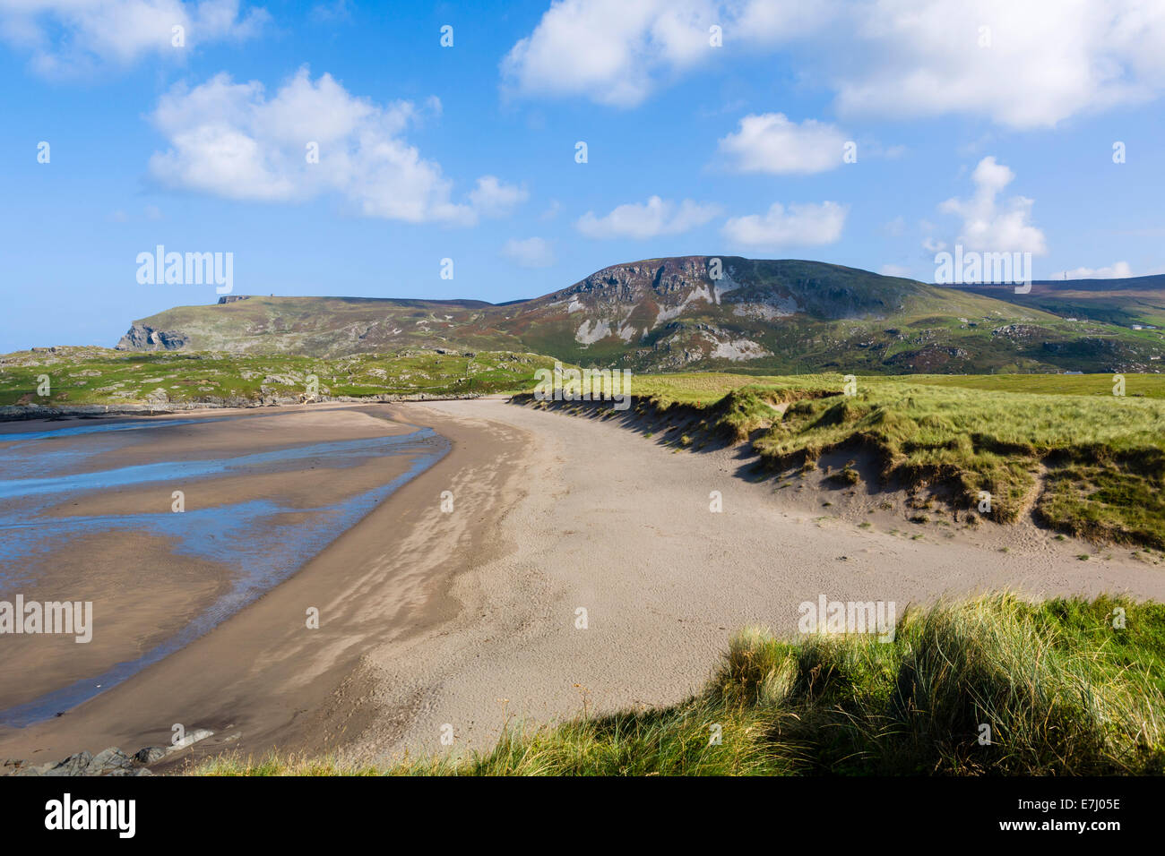 Beach at Doonalt, Glencolumbkille (or Glencolmcille), County Donegal, Republic of Ireland - Stock Image