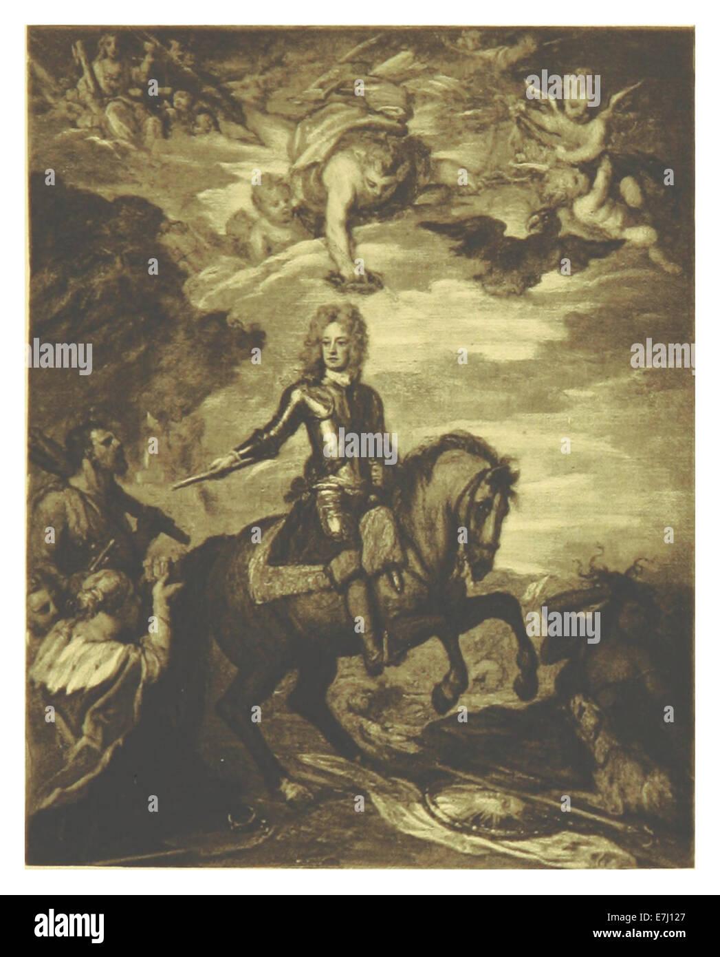 MACAULAY(1898) 5.085 - JOHN CHURCHILL, FIRST DUKE OF MARLBOROUGH (by Sir Godfrey Kneller) - Stock Image