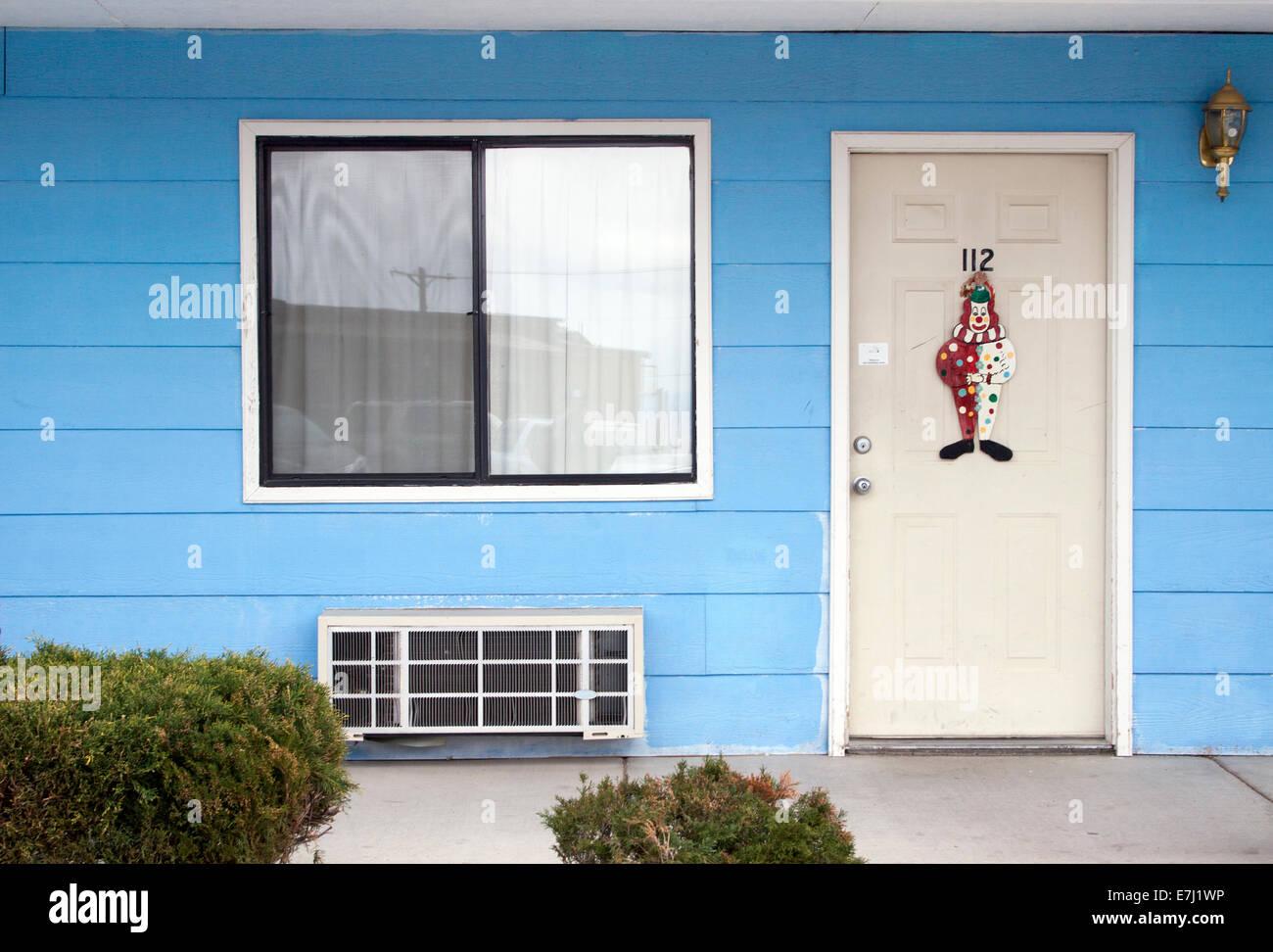 The Clown Motel in Tonopah Nevada - Stock Image