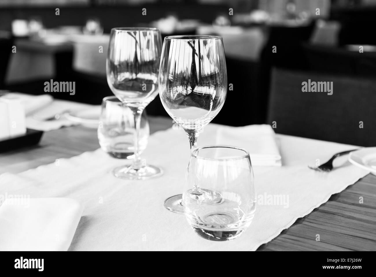 Elegant table set - Stock Image