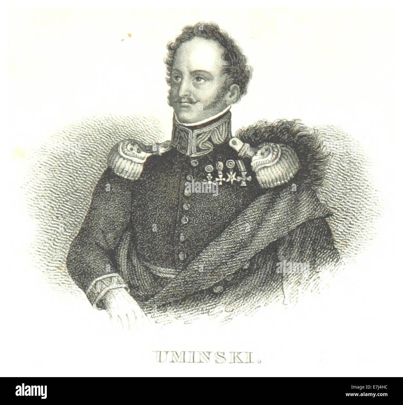 SOLTYK(1834) 1.009 UMINSKI - Stock Image