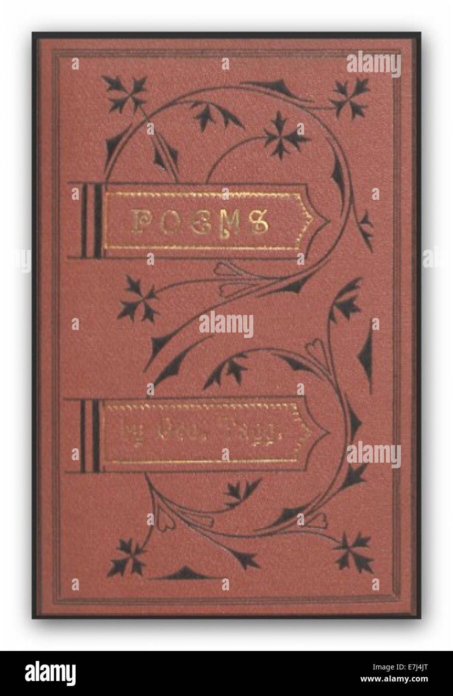 TAGG(1874) Poems Stock Photo
