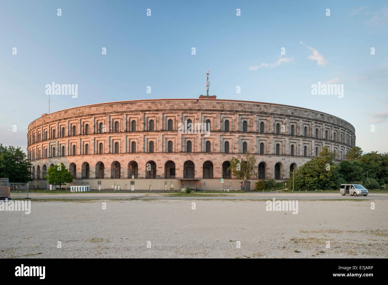 Congress Hall of the Nazi Party, 1933-1945, not completed, Documentation Centre Nazi Party Rally Grounds, Nuremberg, - Stock Image