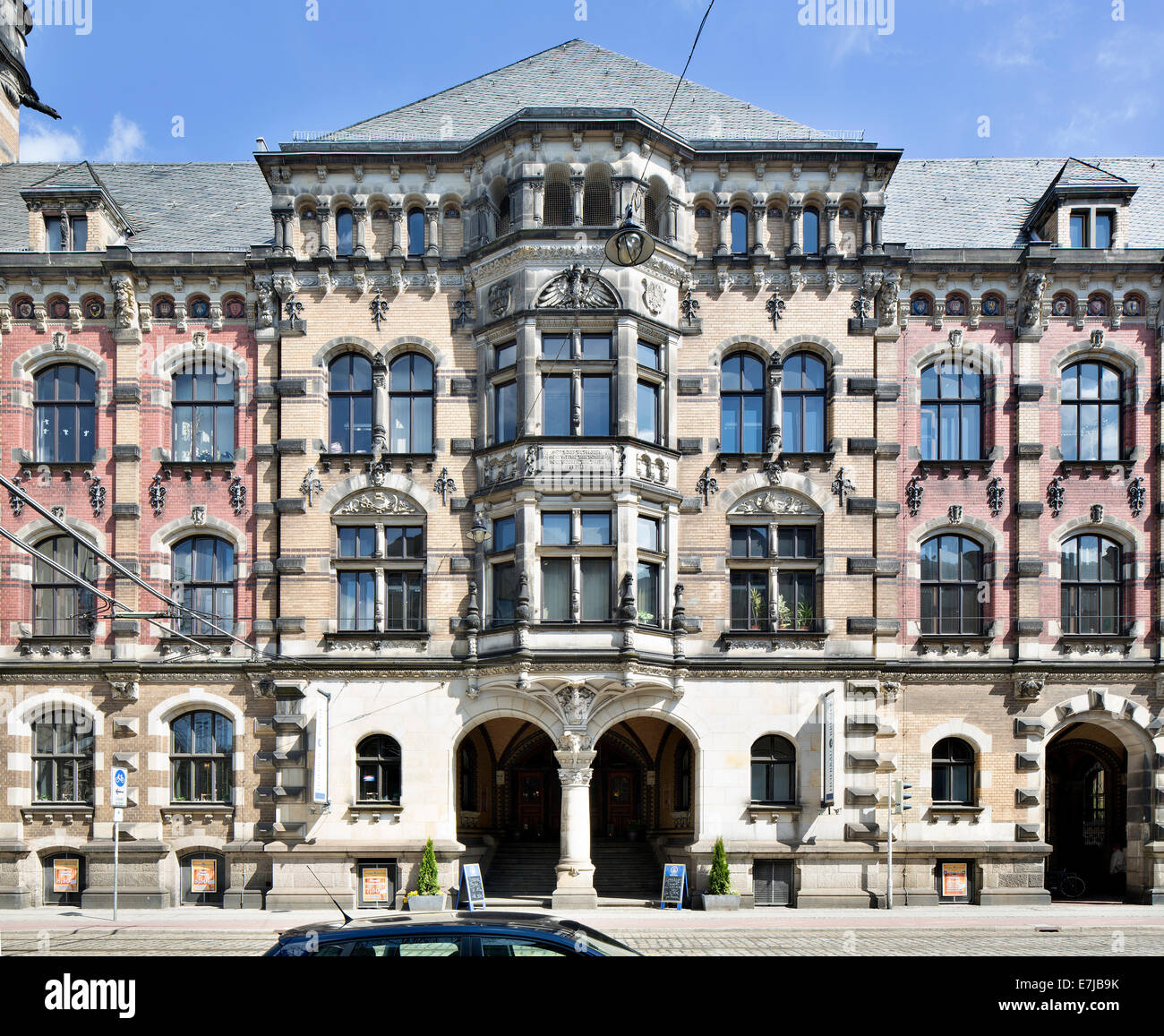 Bremen Courthouse, Bremen, Germany - Stock Image