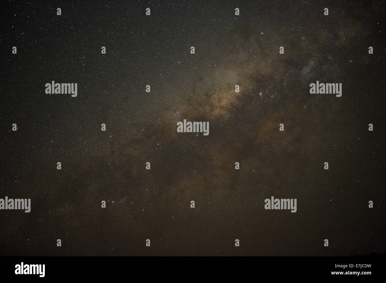 Africa, Etendeka, night, Namibia, star sky, stars, - Stock Image