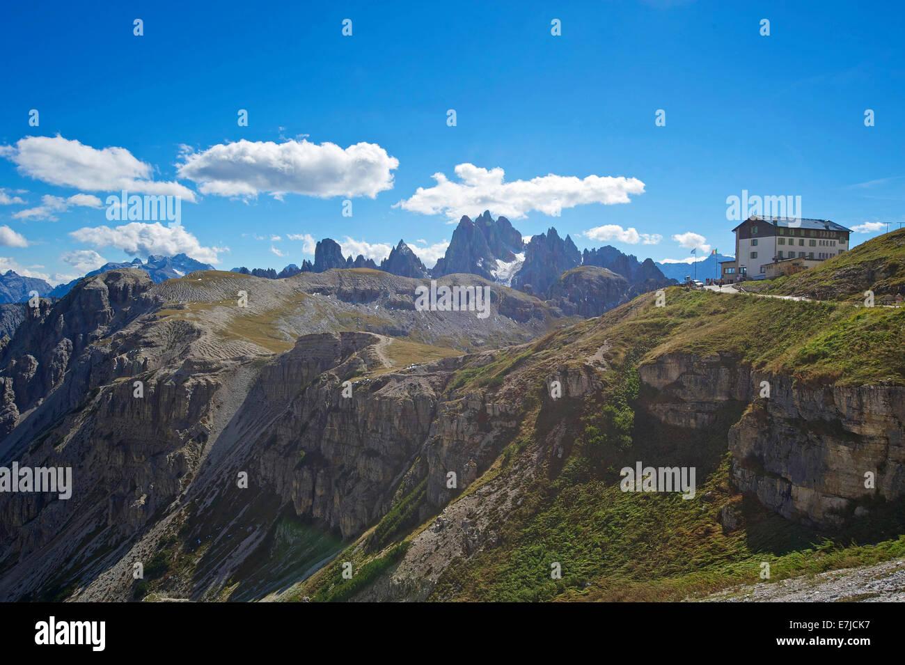 Italy, Europe, Trentino, South Tirol, South Tyrol, outside, Dolomites, mountains, mountain, landscape, mountainous, - Stock Image