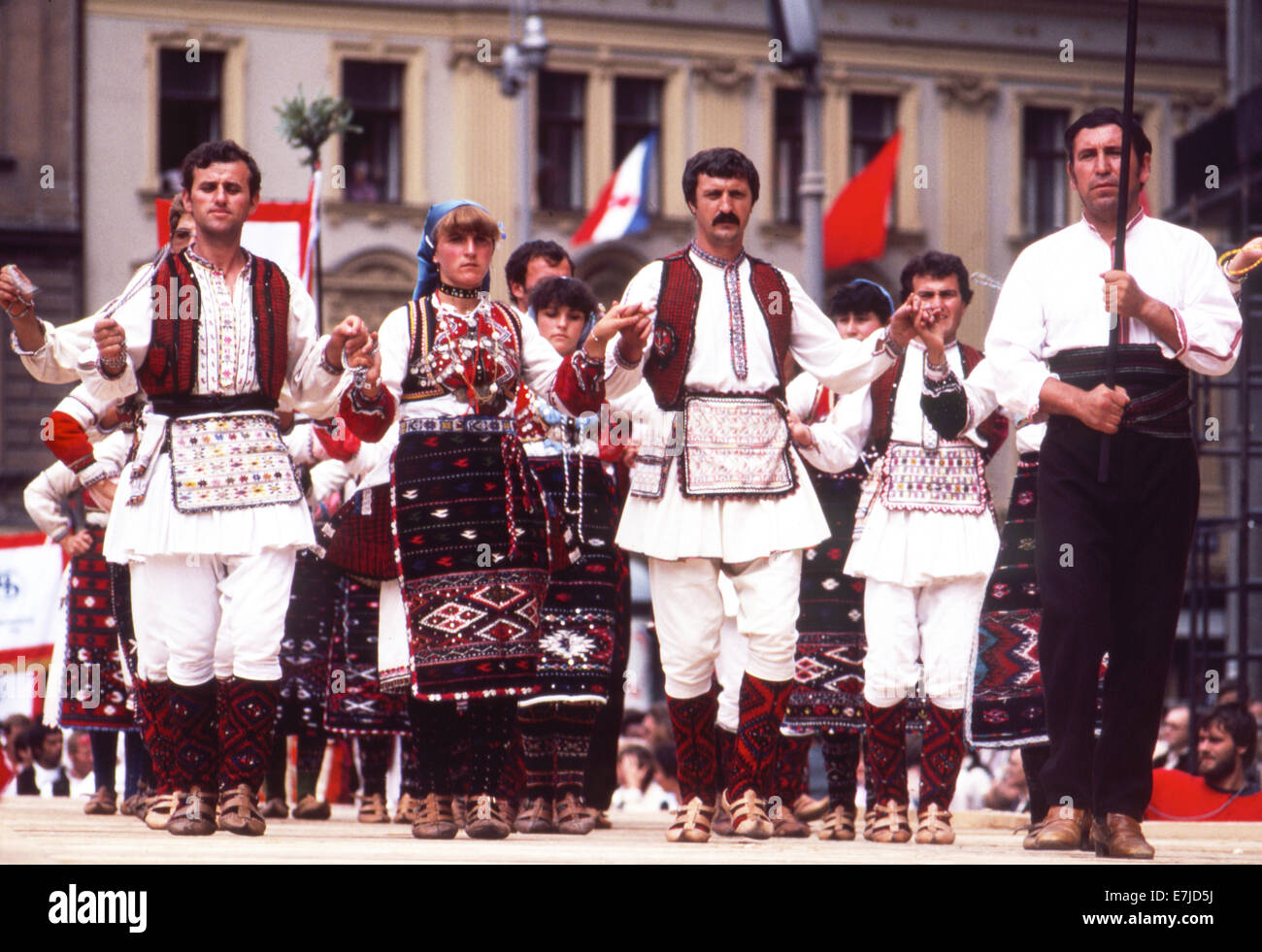 Folk Festival, Macedonia - Stock Image