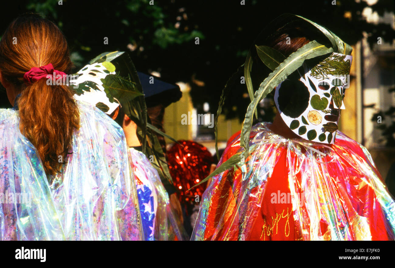 Wine Festival, Neuchatel, Switzerland Stock Photo