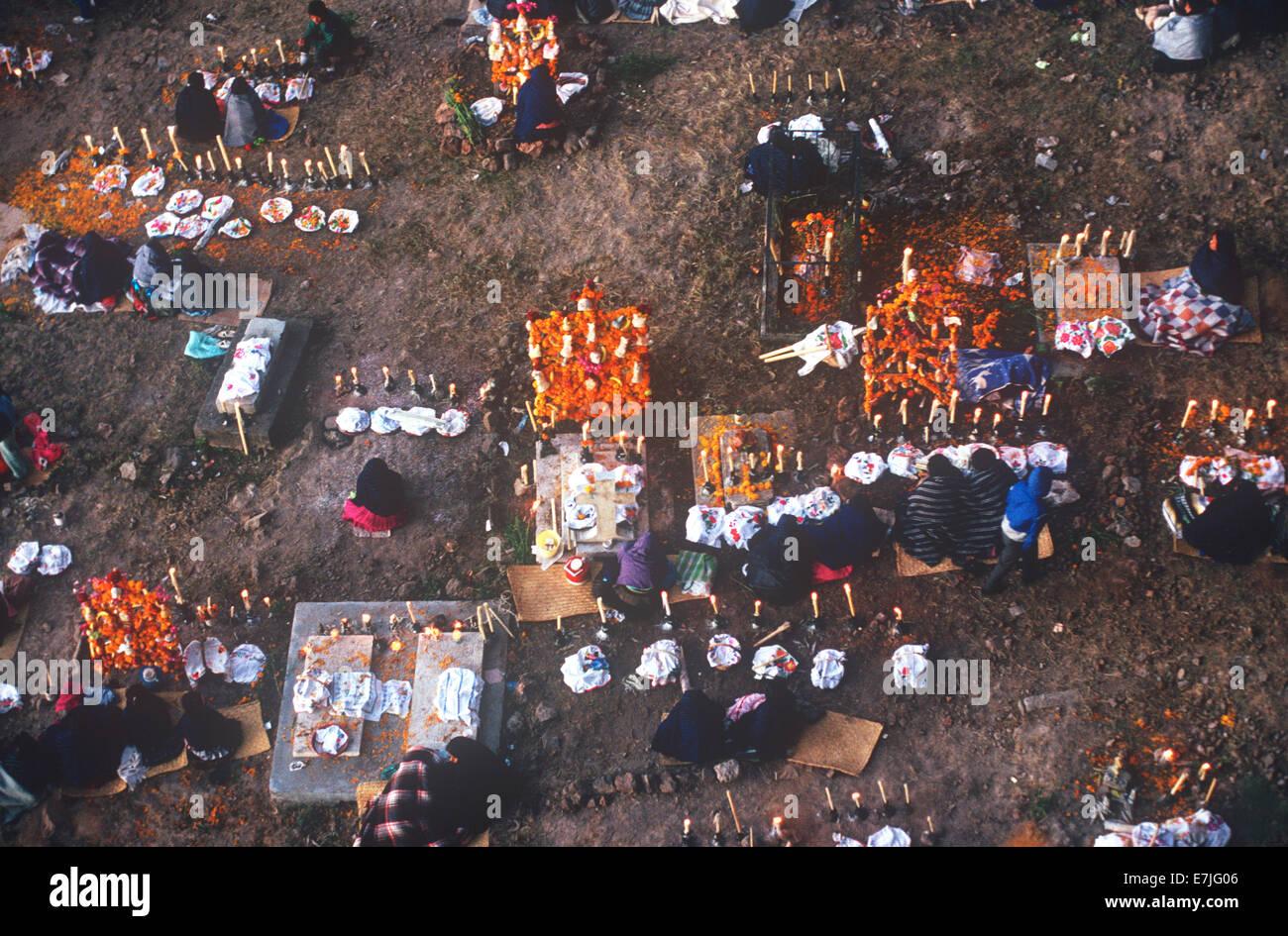 Day of the Dead, Janitizio, Michoacan, Mexico - Stock Image