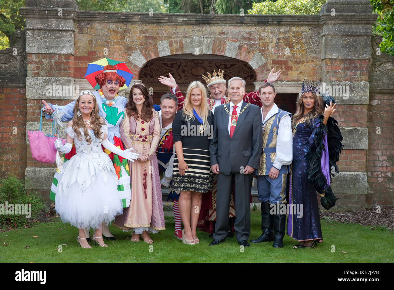 The Mayor and Deputy Mayor of Bromley join the cast at Bromley's