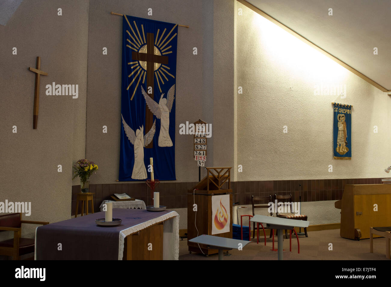 Modern Church Interiors Stock Photos & Modern Church Interiors Stock ...