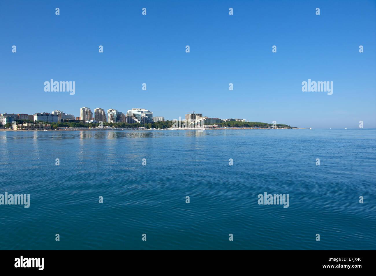 Is there a sea in Krasnodar The nearest sea from Krasnodar