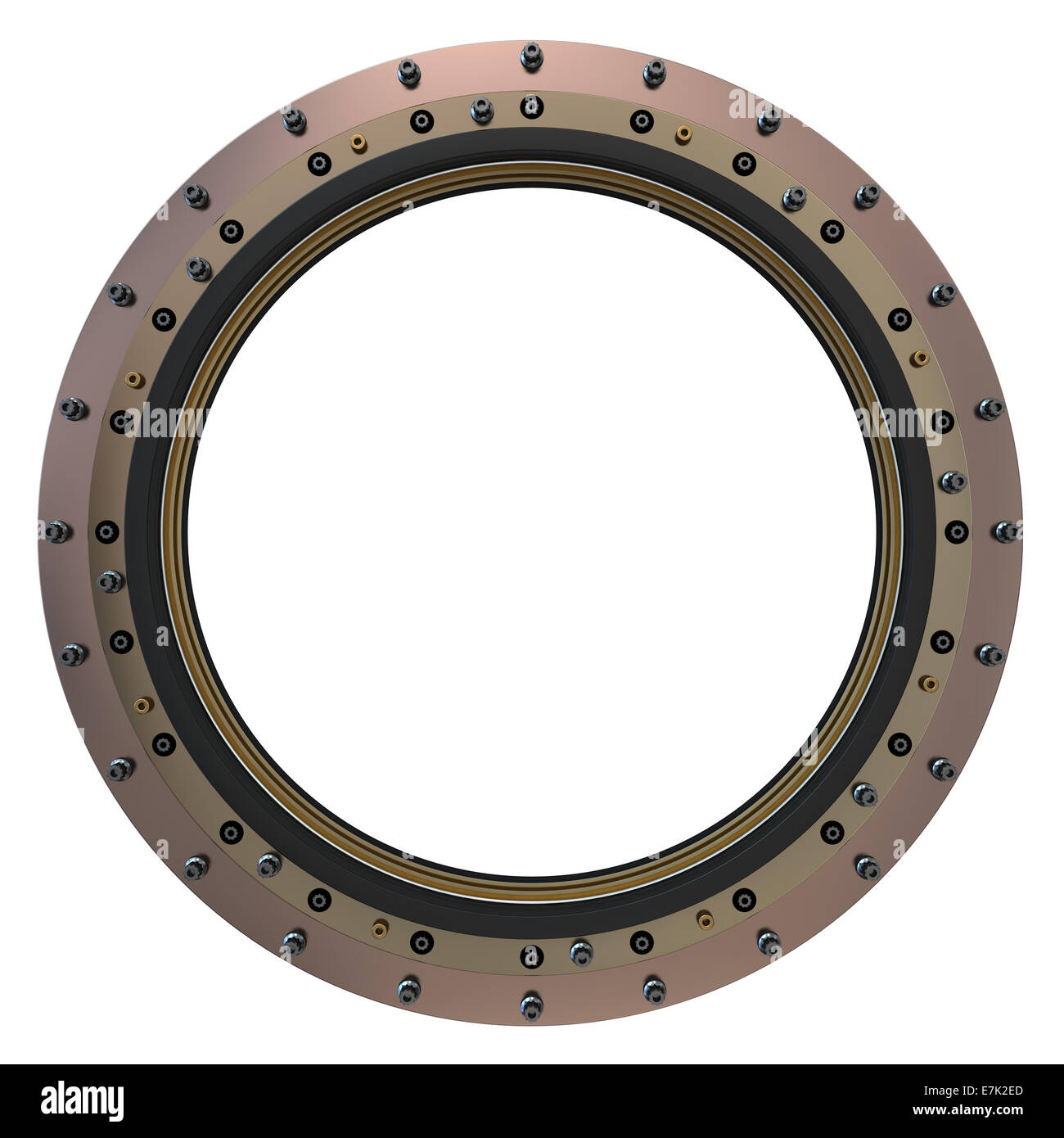 Spacecraft Porthole - Stock Image