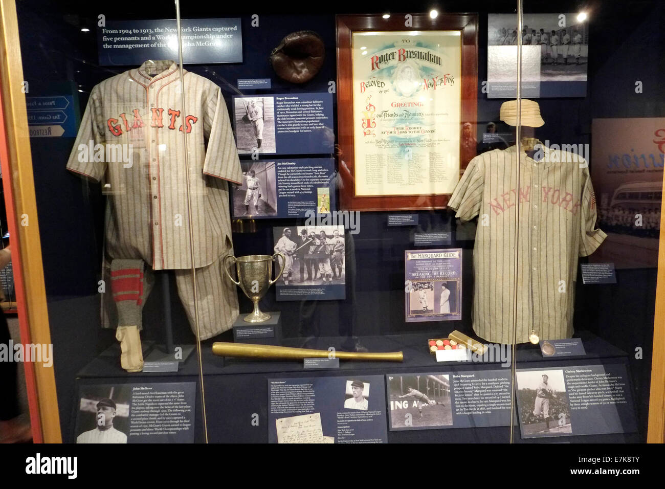 National Baseball Hall of Fame Museum at Cooperstown New York - Stock Image 6529049c0