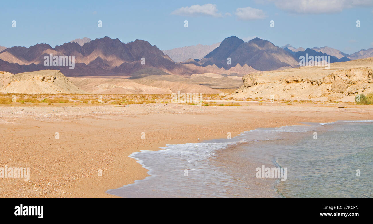 View of Ras Mohammed in the red sea Egypt - Stock Image