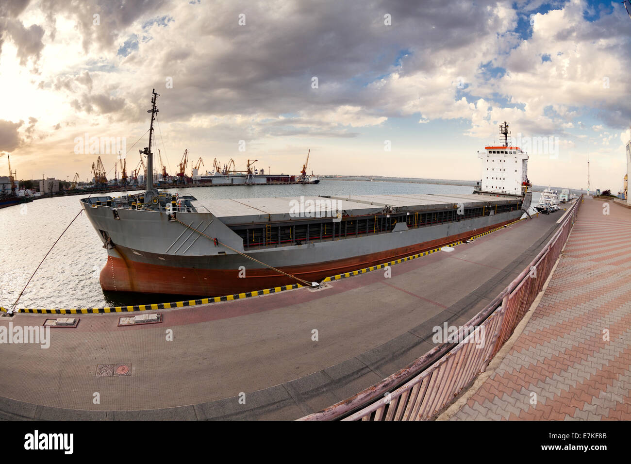 bulk carrier - Stock Image