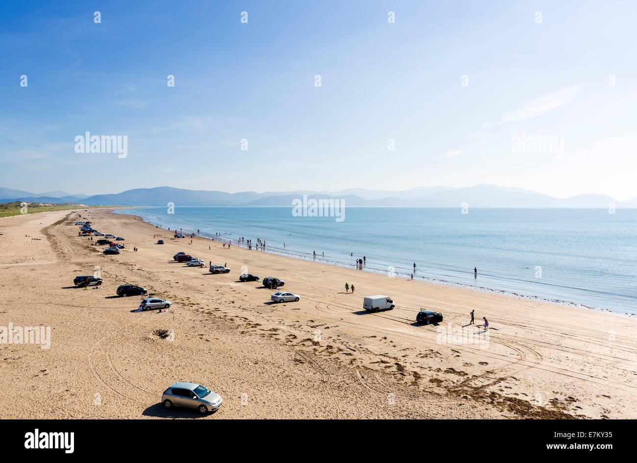 Inch Strand on the Dingle Peninsula, County Kerry, Republic of Ireland Stock Photo