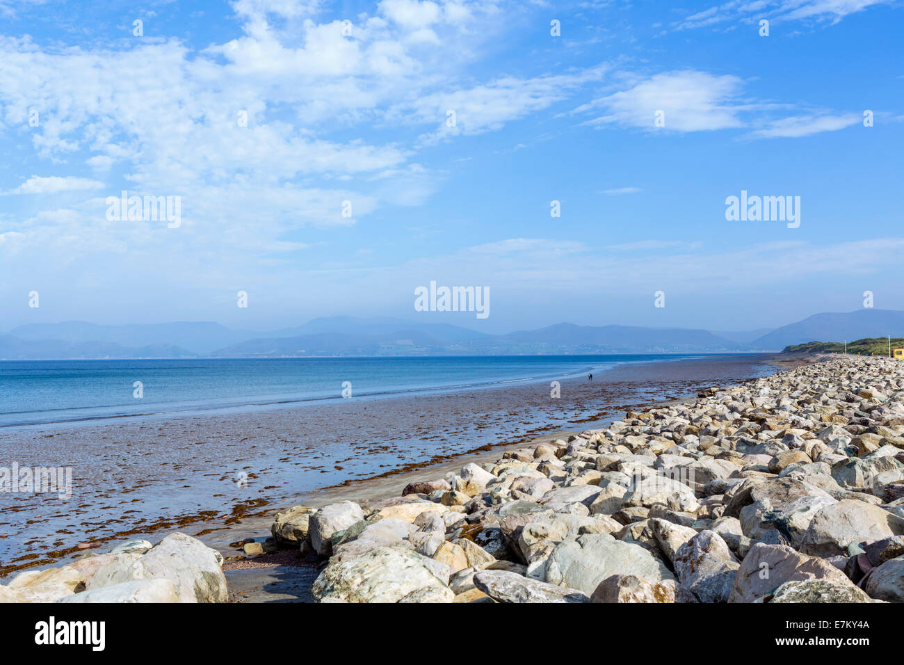 Rossbeigh Beach on the Ring of Kerry, County Kerry, Republic of Ireland - Stock Image