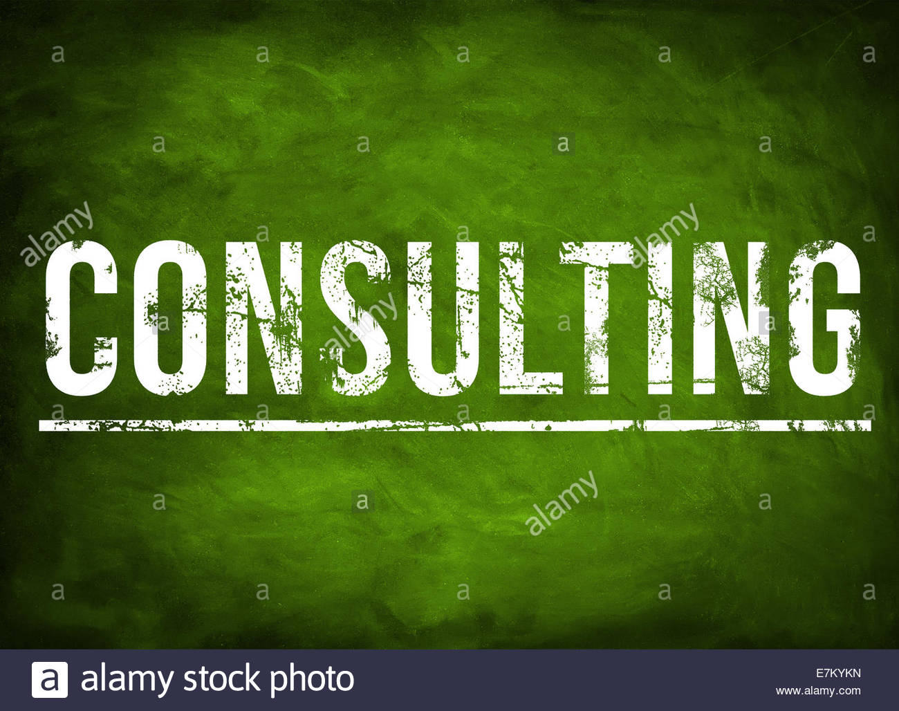 CONSULTING background concept - Stock Image