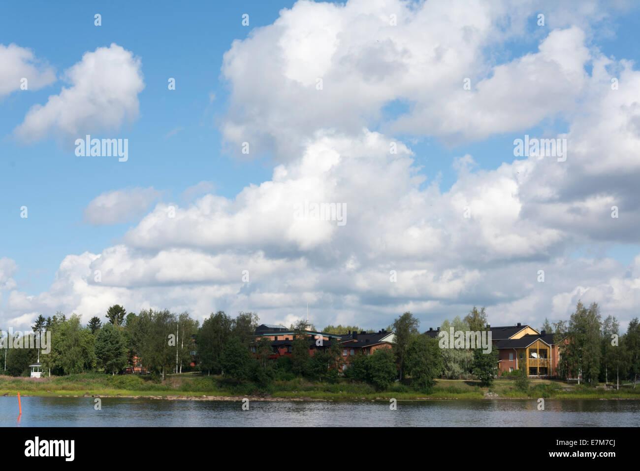Pikisaari in Oulu - Stock Image