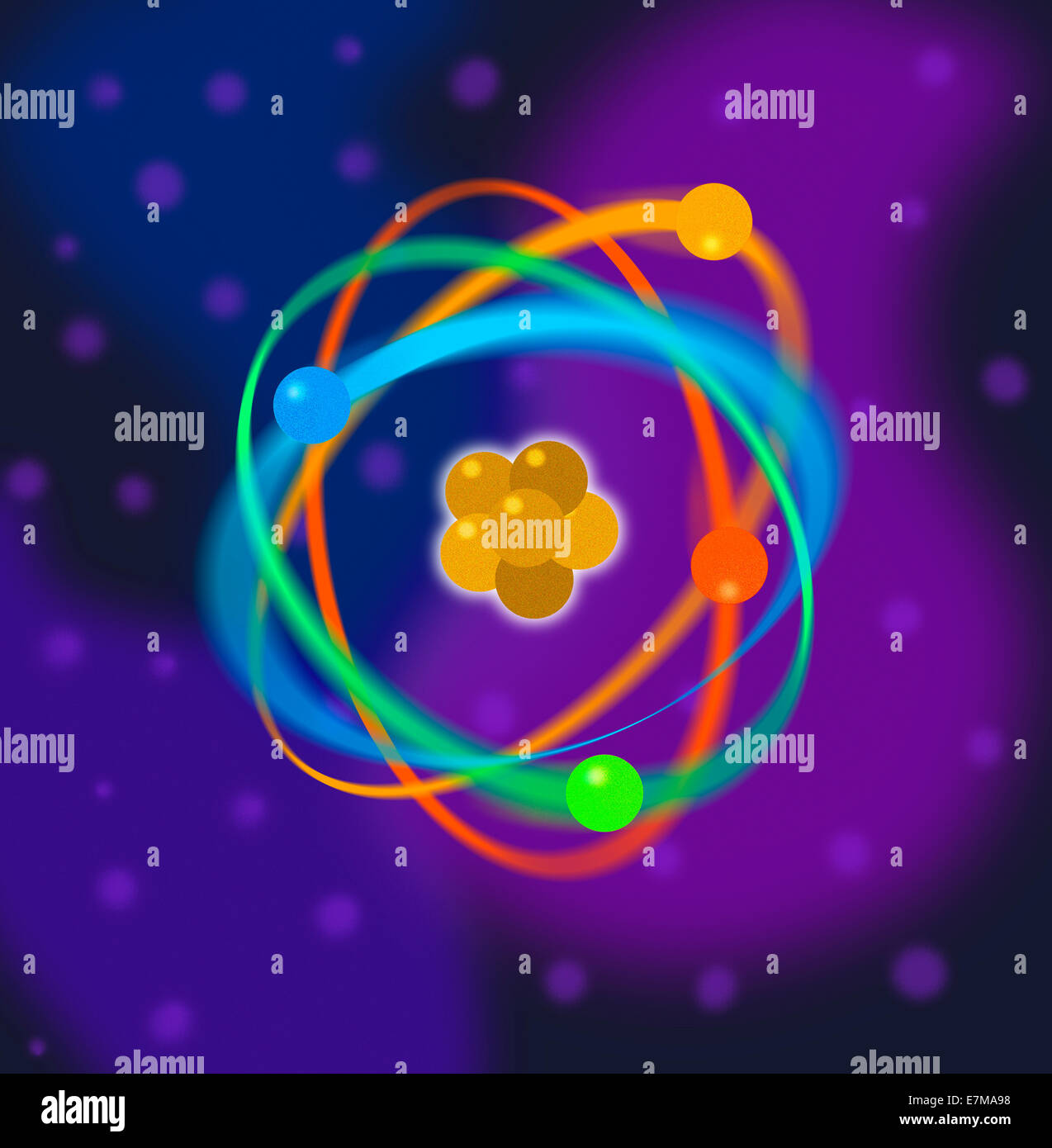 Atomic Structure - Stock Image