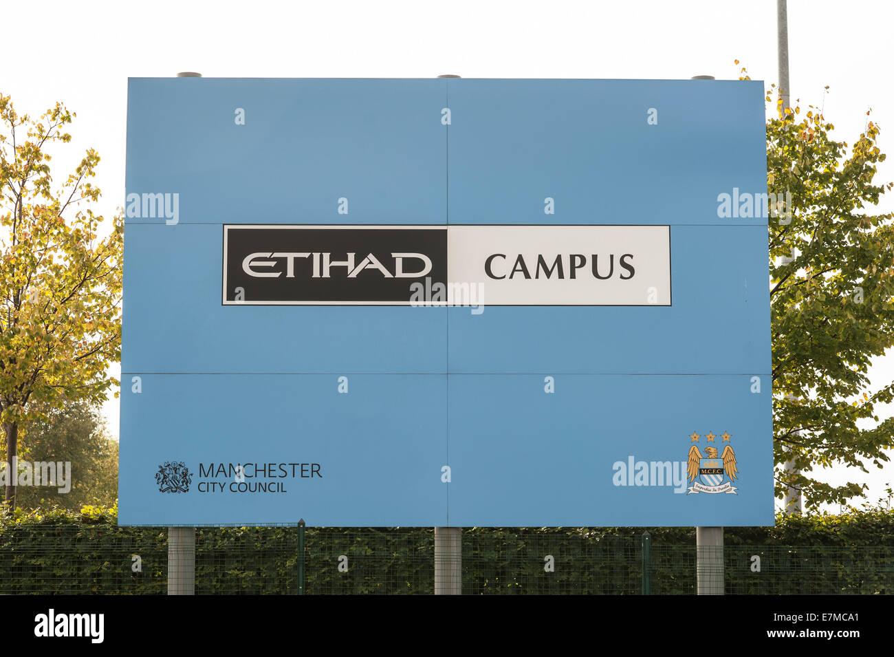 Etihad Campus - Stock Image