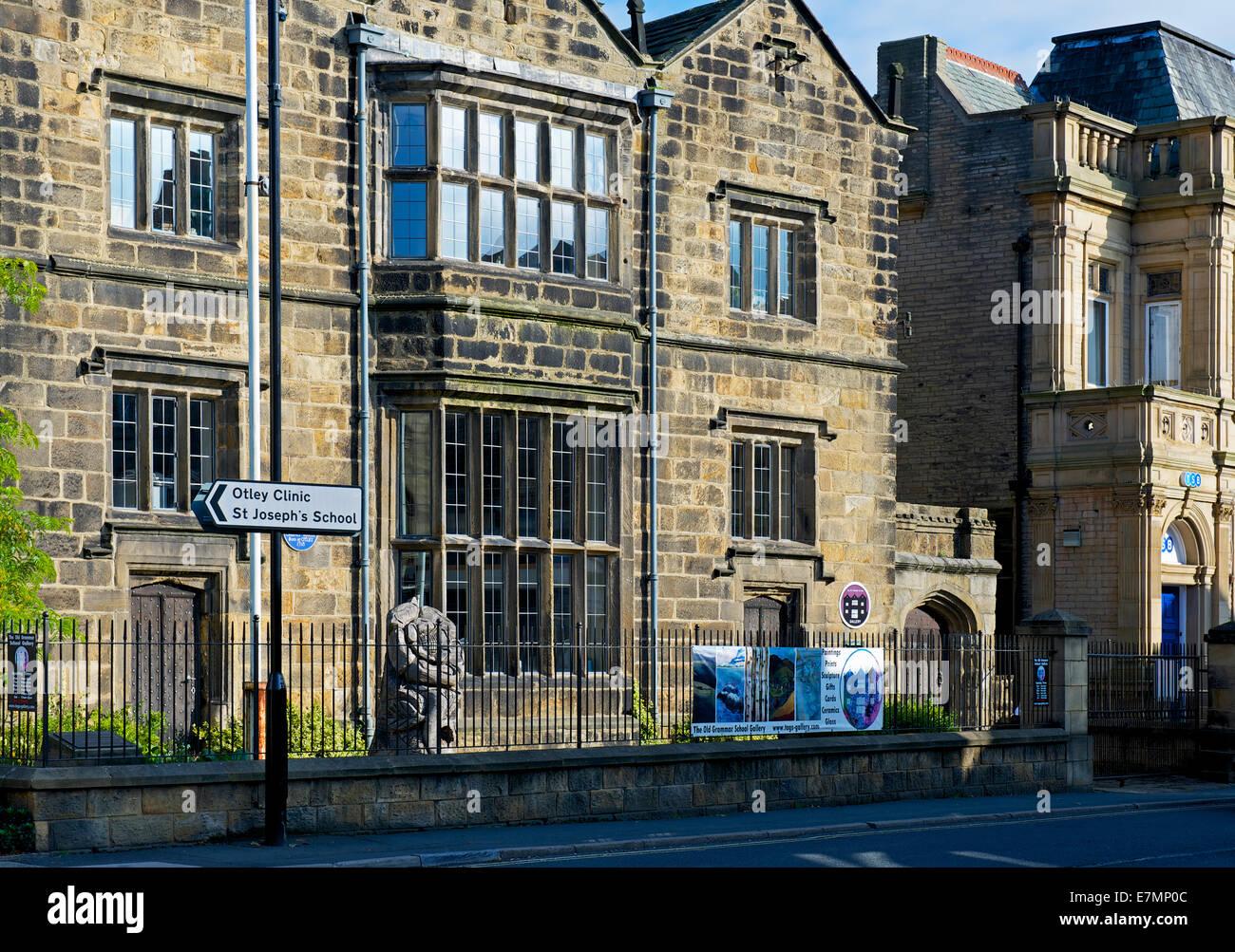 The Manor House, Otley, West Yorkshire, England UK - Stock Image