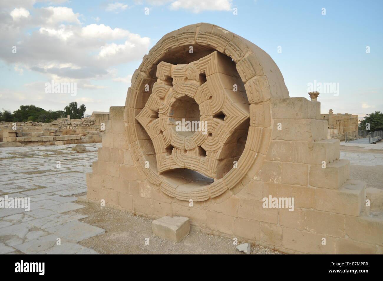 Hisham's Palace, Jericho, Palestine, Gerico - Stock Image