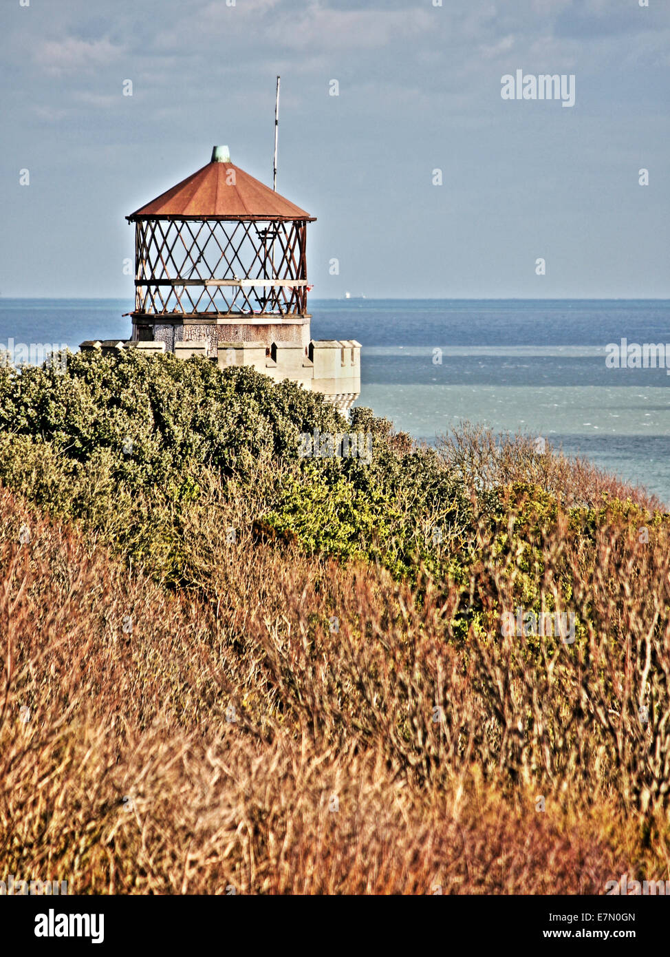 Redundant Lighthouse, Dover - Stock Image