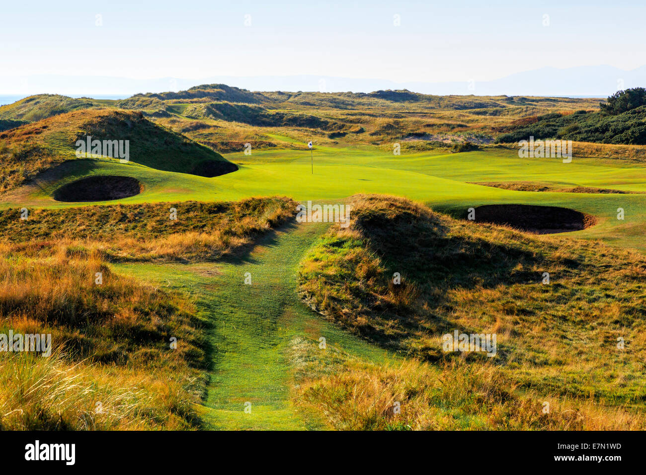 Signature Hole The Postage Stamp 8th At Royal Troon Golf Club Ayrshire Scotland UK