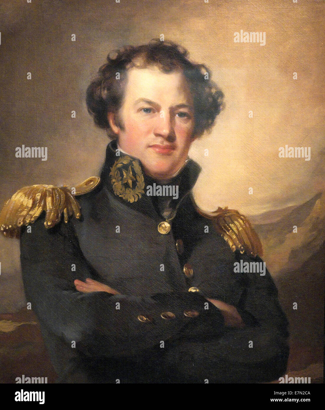 Alexander Macomb, commanding General of USA Army from 1828 to 1841 Stock Photo