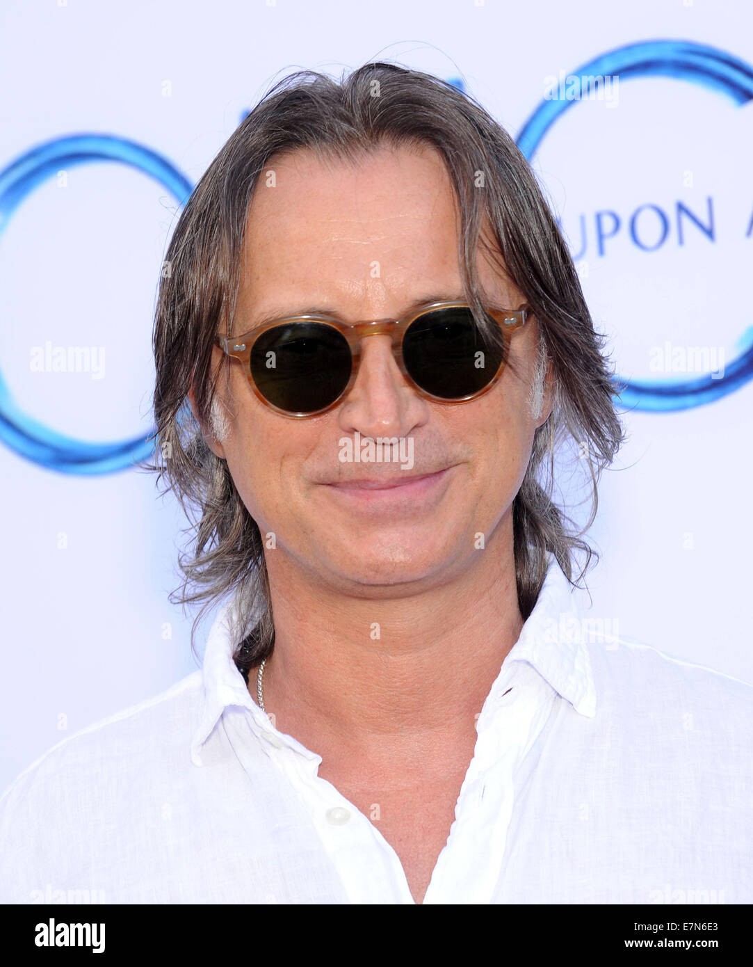 Hollywood, California, USA. 21st Sep, 2014. Robert Carlyle arrives for the premiere of the ABC's 'Once Upon - Stock Image