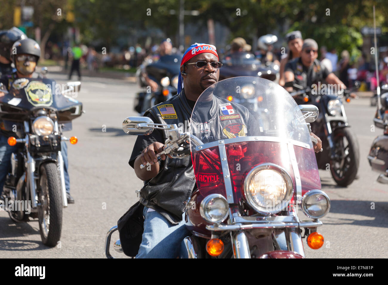 Motorcycle Club High Resolution Stock Photography and ...  |African American Harley Riders